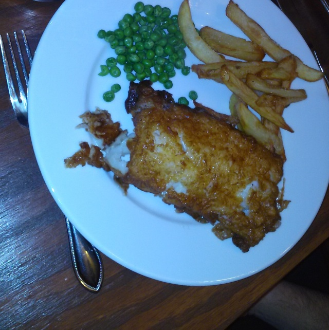 British Fish and Chips - courtesy of Joe's Grampie Bob